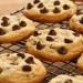 Cookie aux pepites de chocolat.